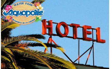 aquopolis entradas mas hotel