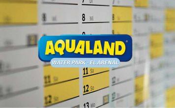 horarios y calendario aqualand