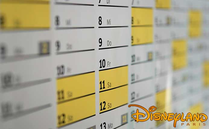 Calendario Afluencia Disneyland Paris.Horarios Y Calendario De Disneyland Paris Colectivia