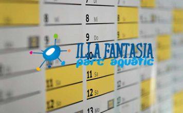 horarios y calendario illa fantasia