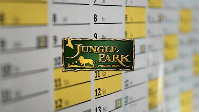 horarios y calendario jungle park